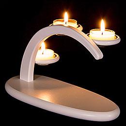 Modern Light Arch white  -  without figurines  -  25x13x10cm / 9.8x5.1x3.9inch