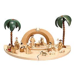 Nativity Set  -  natural colour