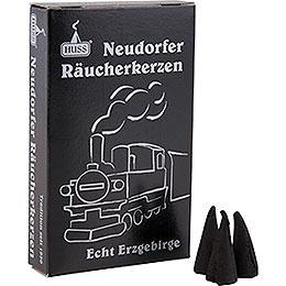 Neudörfer Räucherkerzen Dampflokduft  -  24 Stück