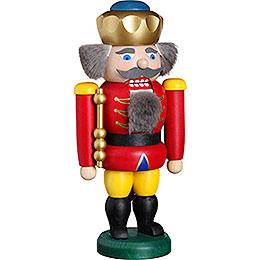 Nussknacker König rot  -  20cm