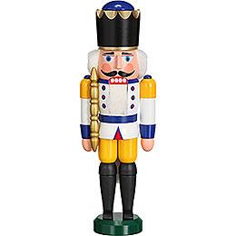 Nussknacker König weiß  -  29cm