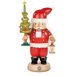 Nussknacker Weihnachtsmann mit Baum  -  23cm