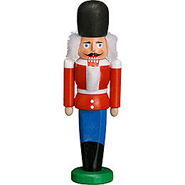 Nutcracker Dane red  -  9cm / 3.5 inches