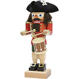 Nutcracker  -  Drummer Red  -  25,0cm / 9.8 inch