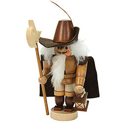 Nutcracker Mini Nightwatchman natural colors  -  12,0cm / 5 inch