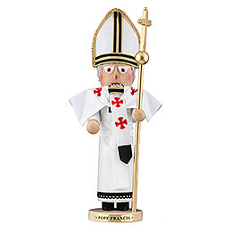 Nutcracker Pope Francis  -  Limited edition  -  47,5cm / 18,7 inch
