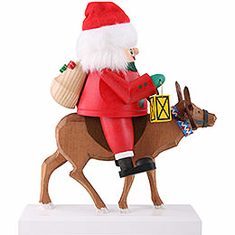 Nutcracker Santa with reindeer  -  26cm / 10 inch