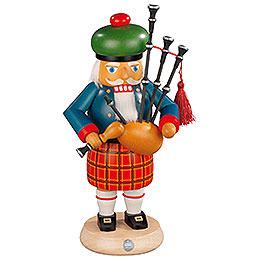 Nutcracker Scotsman with bagpipe  -  27cm / 11 inch