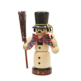 Nutcracker  -  Snowman Natural Colors  -  22,0cm / 9 inch