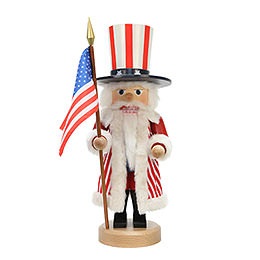 Nutcracker  -  Uncle Sam  -  42,5cm / 17 inch