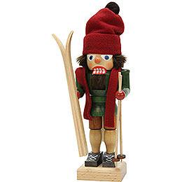 Nutcracker skiier  -  28,5cm / 11.2inch