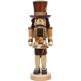 Nutcracker toy salesman, natural  -  40,5cm / 16inch