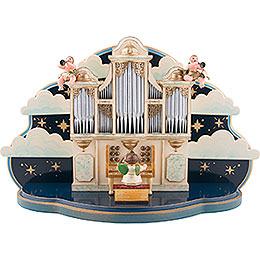 Organ for Hubrig Angel Orchestra with music box  -  36x13x21cm / 14x5x8inch