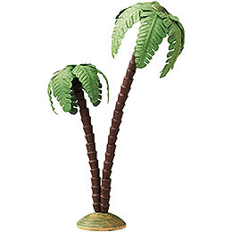 Palm tree, double  -  16cm / 6.3inch
