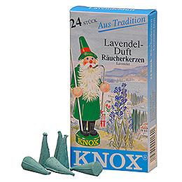 R�ucherkerzen  -  Lavendel