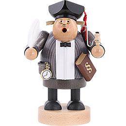 Räuchermännchen Advokat mit Gesetzbuch  -  20cm