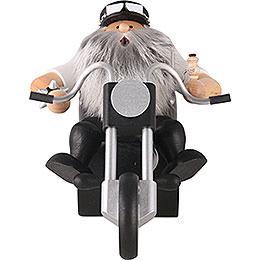 Räuchermännchen Easy Rider  -  17cm