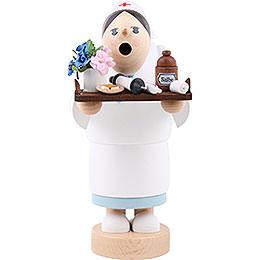 Räuchermännchen Krankenschwester  -  19cm