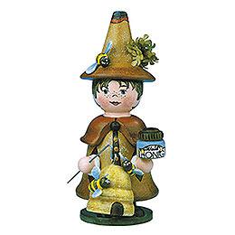 R�ucherm�nnchen Miniatur Wichtel Waldhonig  -  14cm