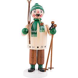 Räuchermännchen Skifahrer  -  18cm