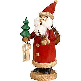 Räuchermännchen Weihnachtsmann rot, klein  -  17cm