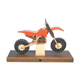 Räuchermotorrad Cross 27 x 18 x 8cm