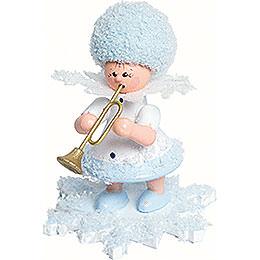Schneeflöckchen mit Trompete  -  5cm