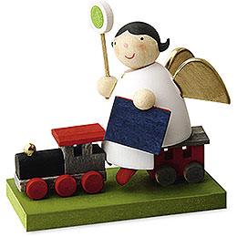 Schutzengel auf Eisenbahn  -  3,5cm