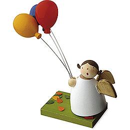 Schutzengel mit 3 Luftballons  -  3,5cm