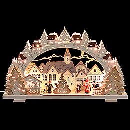 Schwibbogen  -  Adventszeit exklusiv  -  53x31x4,5cm
