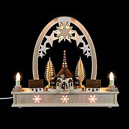 Seidel Arch Carol Singers  -  36cm x 31cm / 14 x 12 inches