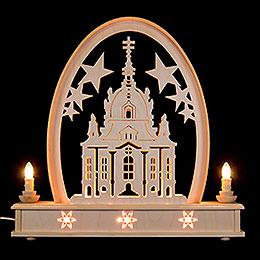 Seidel Arch Church of Dresden  -  36x31cm / 14x12 inch