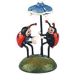 Set of Two -  Ladybug Duet  -  4,5cm / 1,75 inch