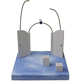 Setting Heaven's gate  -  28cm / 11inch