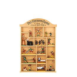 Setzkasten für Struwwelpeterfiguren  -  40 x 59cm