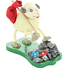 "Sheep ""Alpi"", hiking  -  6cm/ 2.4inch"