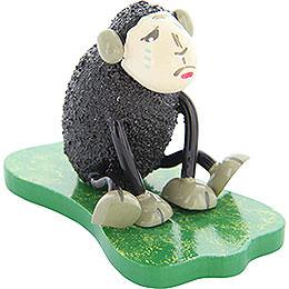 "Sheep ""Depri"", Crying, Black  -  5cm / 2 inch"