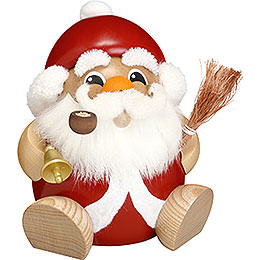 Smoker Ball Figur Smoker Santa Claus  -  18cm / 7 inch
