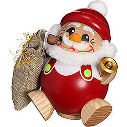 Smoker  -  Ball Figure Santa Claus  -  12cm / 5 inch