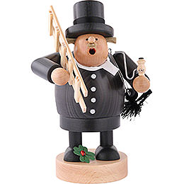 Smoker Chimney sweep  -  22cm / 9 inch