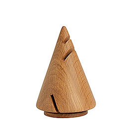 Smoker Cone modern Oak  -  14cm / 6 inch