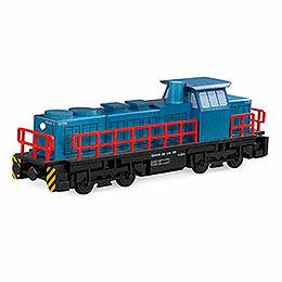 Smoker  -  Diesel Locomotive  -  25x6x8cm / 10x2.4x3.1 inch