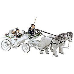 Smoker KWO Wedding Horse & Carriage