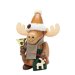 Smoker Moose Santa natural  -  20,5cm / 8 inch