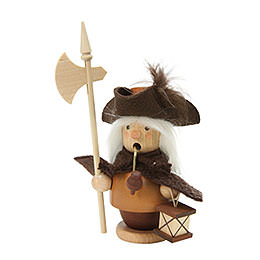 Smoker Nightwatchman natural colors  -  13,0cm / 5 inch