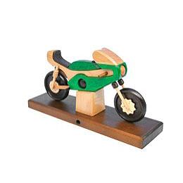 Smoker Racing Motorbike green 27 x 18 x 8cm / 11 x 7 x 3 inch