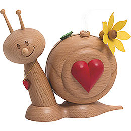 Smoker Snail Sunny Heart Snail  -  16cm / 6.3inch