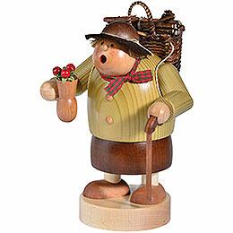 Smoker Woodwoman  -  15cm / 6 inch