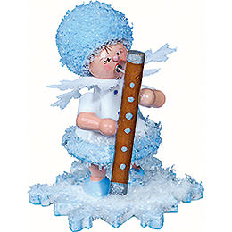 Snowflake with bassoon  -  5cm / 2inch