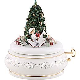 """Spieldose """"Der Weihnachtsabend"""" -  15cm"""